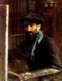 Nasreddine(Alphonse-Etienne) Dinet dans Art dinet_autoportrait