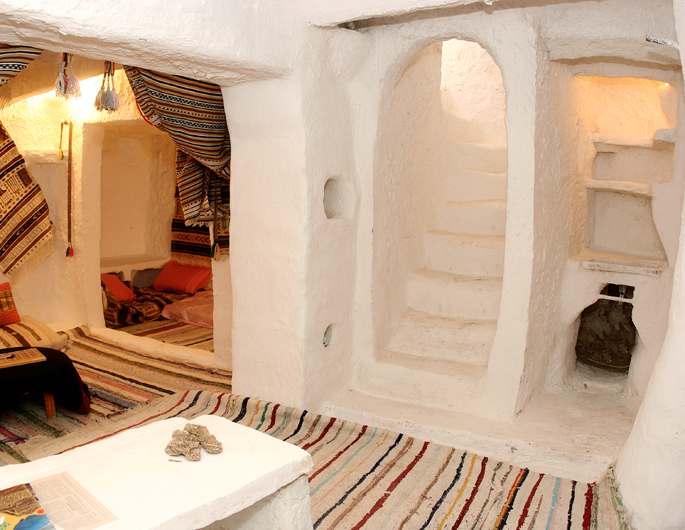 Quintessences taddart ou la maison traditionnelle du m zab - Interieur d une maison ...